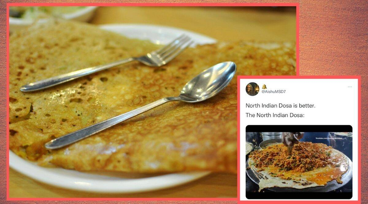 north indian dosa, north indian dosa better on twitter, dosa trending on twitter, south indian dosa, indian express, indian express news, trending, trending news