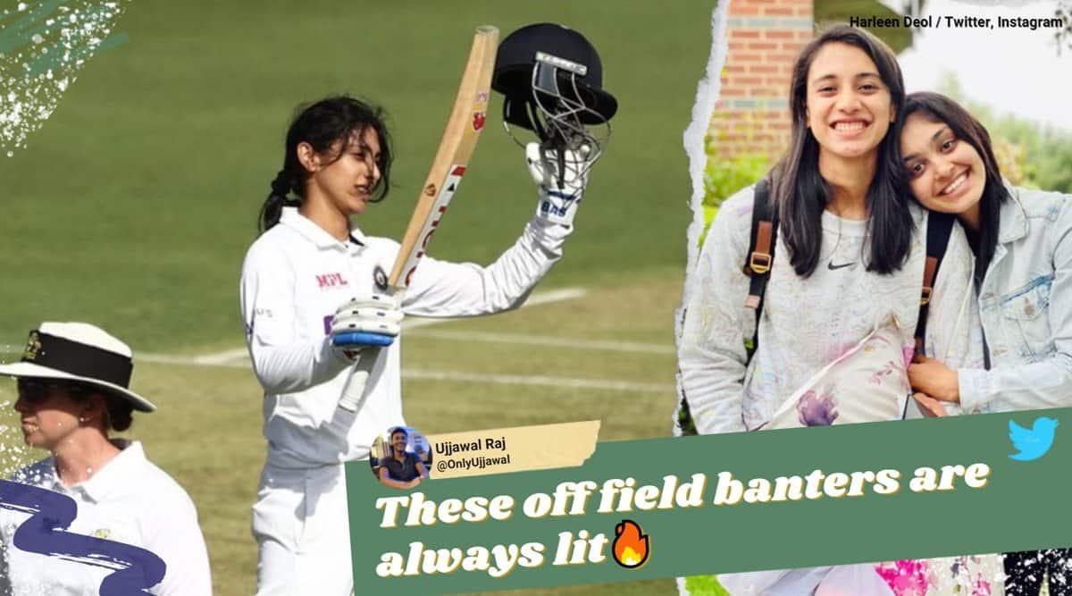 Smriti Mandhana, Harleen Deol, Smriti Mandhana centuary, Smriti Mandhana test centuary, alexa play a song trend, Smriti Mandhana harleen banter, sports news, cricket news
