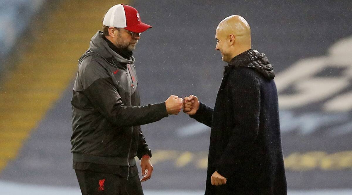 Klopp made me a better manager, says Manchester City's Guardiola