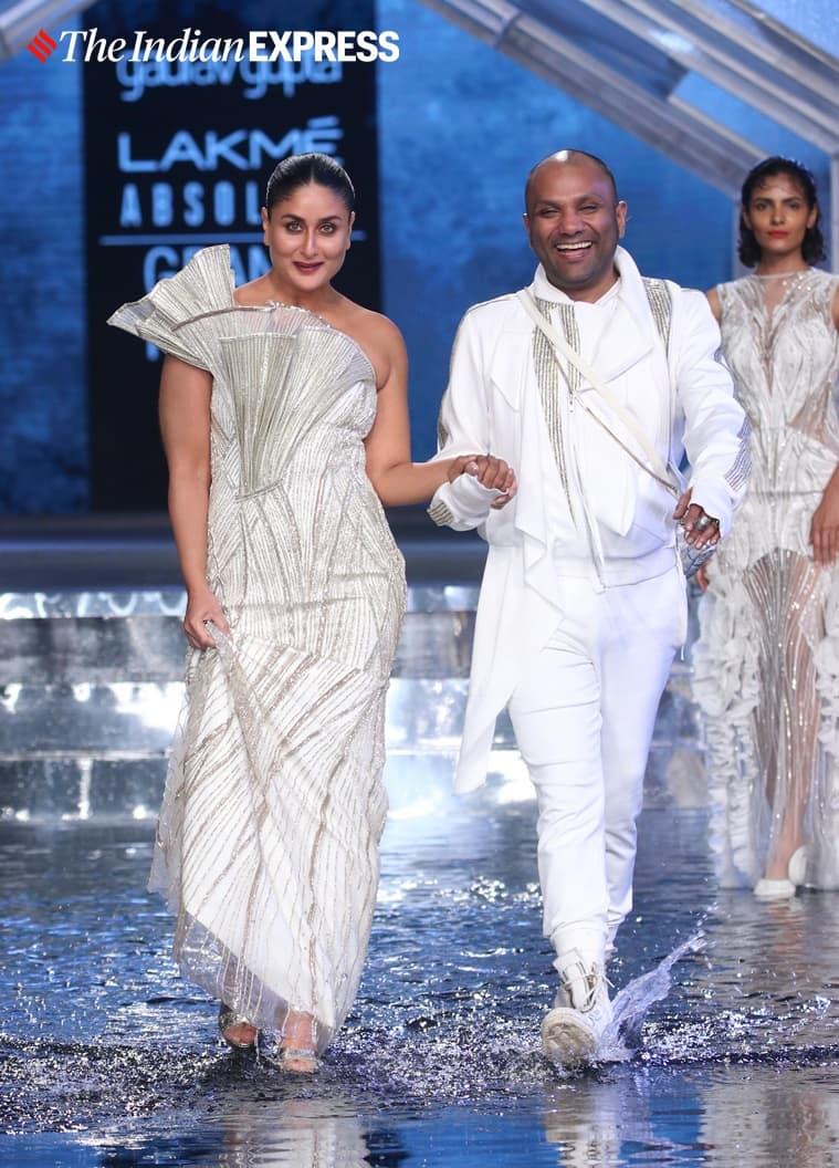 kareena kapoor khan gaurav gupta showstopper lakme fashion week