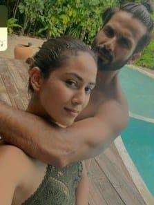 Shahid Kapoor and Mira Rajput dreamy Maldives vacation