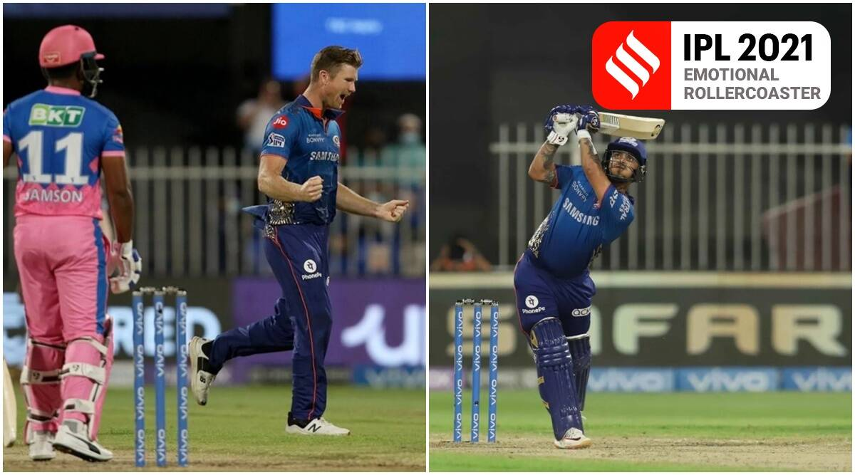Ishan Kishan's 50 is the toast of Mumbai Indians' quick-chase; Neesham grins and Phillips is blah & blur