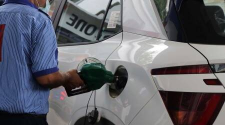 MP man distributes extra petrol to celebrate birth of girl child in his family, MP family extra petrol girl child, beti bacho, birth of girl, trending, indian express, indian express news
