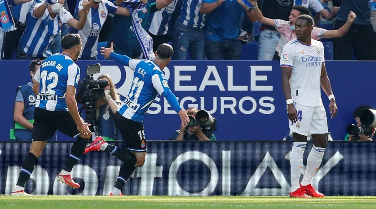 Espanyol end Real Madrid's 25-game unbeaten streak in La Liga