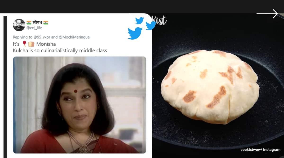 balloon bread, roti balloon bread, kulcha balloon bread, indian food fancy names, west indian food unusual names, odd news, indian express